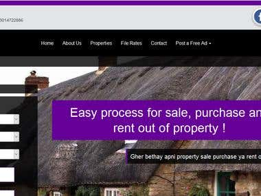 Property Estate Website