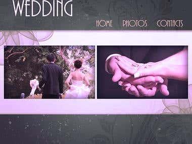 Portfolio of a wedding photografer