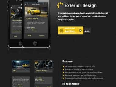 PSD templates for mobile apps