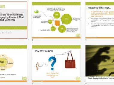 Creating powerpoint presentaion