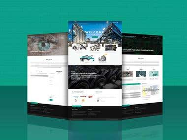 Multi Page CMS Based website