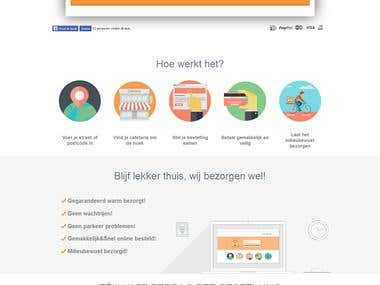 Frietbezorgd - Multivendor B2B ecommerce website.