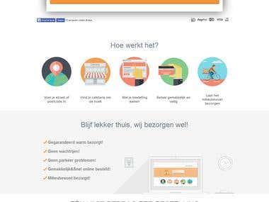 Frietbezorgd - Multivendor B2B ecommerce website.