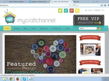 MyCraftChannel - Joomla