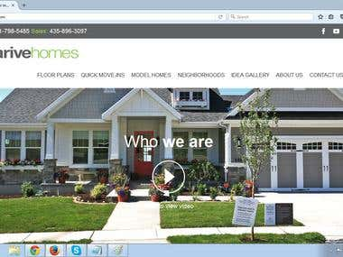 Arrive Homes - WordPress (Avada)
