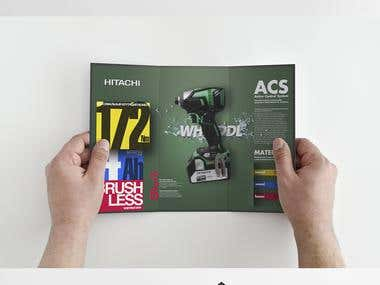 Brochure for the new screwdrivers hitachi.