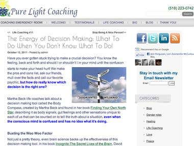 The Energy of Decision Making