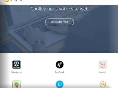 monprojet website