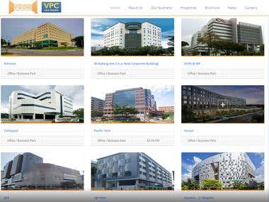 corporate vision website