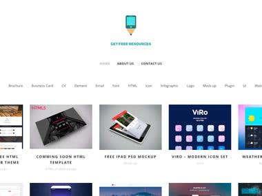 Full package website