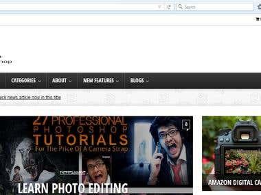 Affilaite Marketing Web site