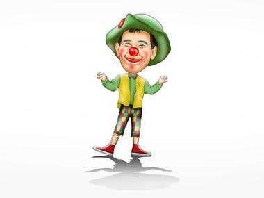 Clown Caricature