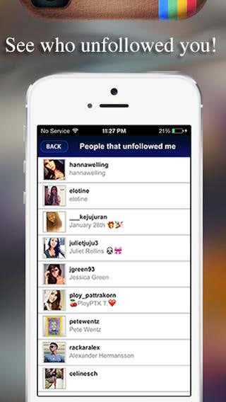 Insta Tracker app to get instgram likes