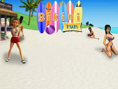 Bikni runner game a temple runner game