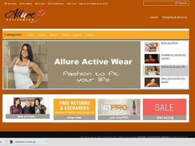eCommerce Web Shop in BigCommerce