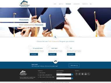 Website Design for Diplomatic Academy