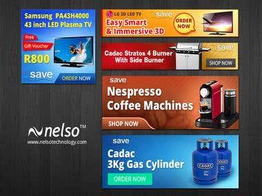 Custom E-commerce Banner Design