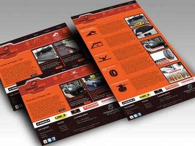 Primary Auto Trading Website-Mockup plus Coding
