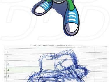 Eli T Mascot Design