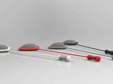 Silver cloth electrode