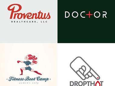 Health & Nutrition Logos