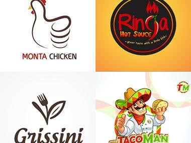 Food / Restaurant logos