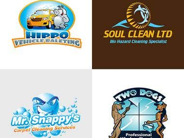 Home/Cleaning service logos