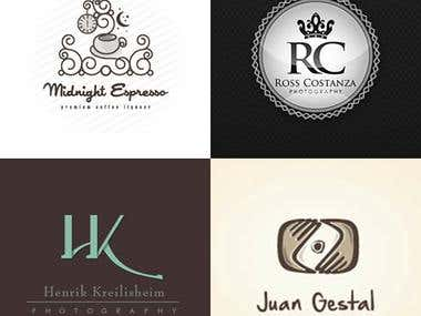 Art & Photography logos
