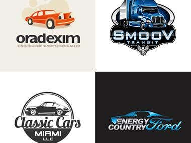 Automotive industry logos