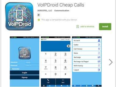 voipdroid android SIP Mobile Dialer Application