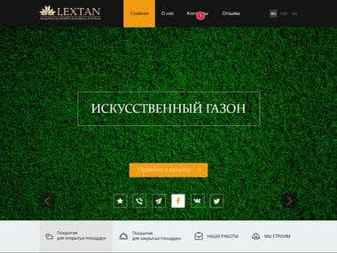 Website of Lextan