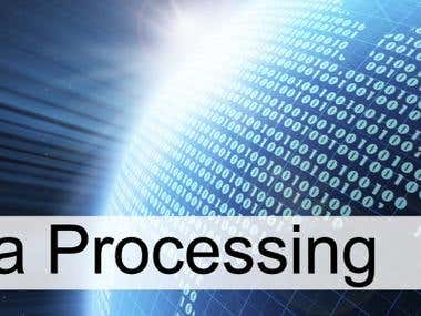Data Processing & Data Entry