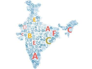 Time-stamped TranslationTranscription of any Indian Language