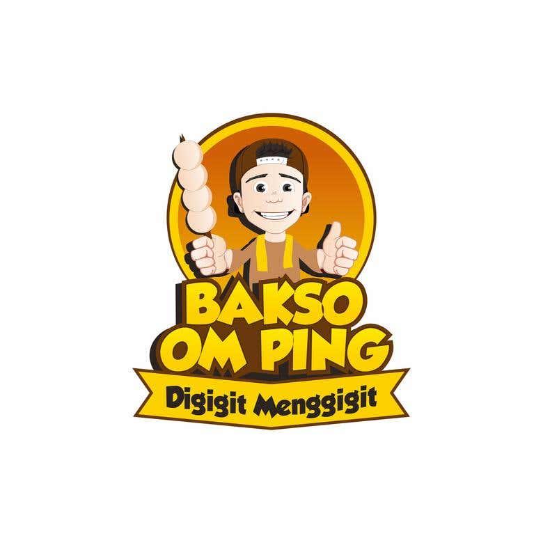 Logo Om Ping Bakso Freelancer