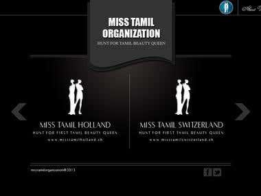 Miss Tamil Oranisation (swizz)