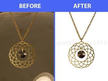 Jewelry Background Remove