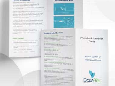Patient & Physician Brochure Design for DoseRite