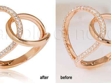 jewelary retouching
