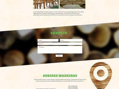 Sobires Madeiras - Wordpress Theme