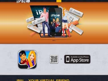 iPal - virtual friend for iPhone