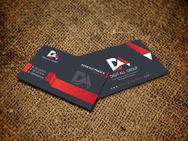 Digital group Visiting Card