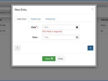 HTML5 LocalStorage App