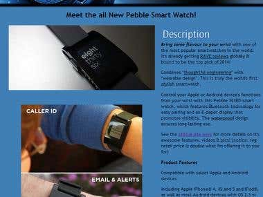 eBay Listing - Smartwatch