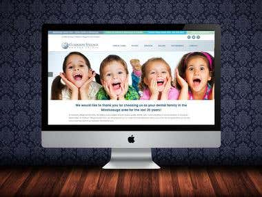 Dental Clinic Website (PHP/MySQL / Custom CMS)