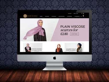 Online Hijab Shop (Online Shop)