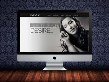 Envy Fashion Dubai (UI/UX)