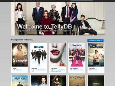 TellyDB.com