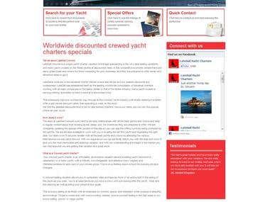 Yacht online wordpress
