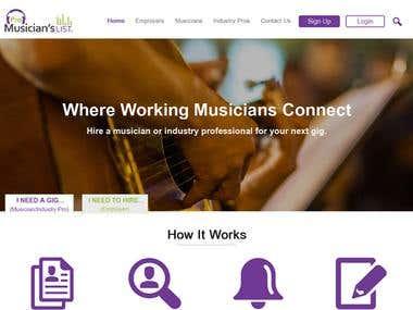 Pro Musician List