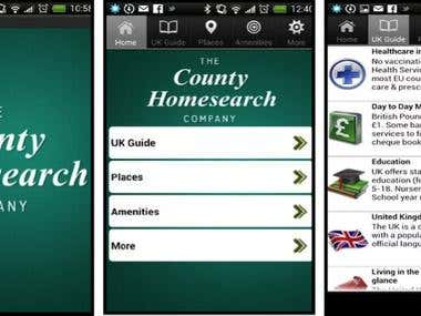 COUNTY HOMESEARCH COMPANY